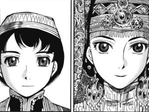 Karluk [left] and Amira